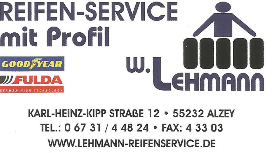Lehmann Reifenservice Alzey